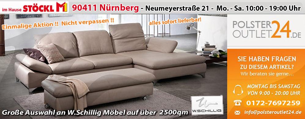 w schillig stoffgarnitur stoffsofa in y61 45beige. Black Bedroom Furniture Sets. Home Design Ideas