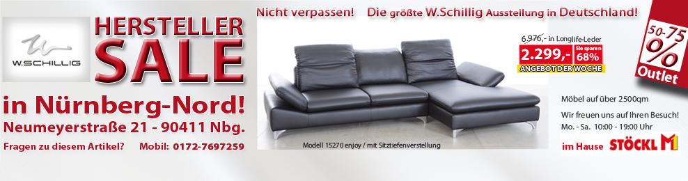 w schillig ledergarnitur ledersofa in z77 11rosso. Black Bedroom Furniture Sets. Home Design Ideas